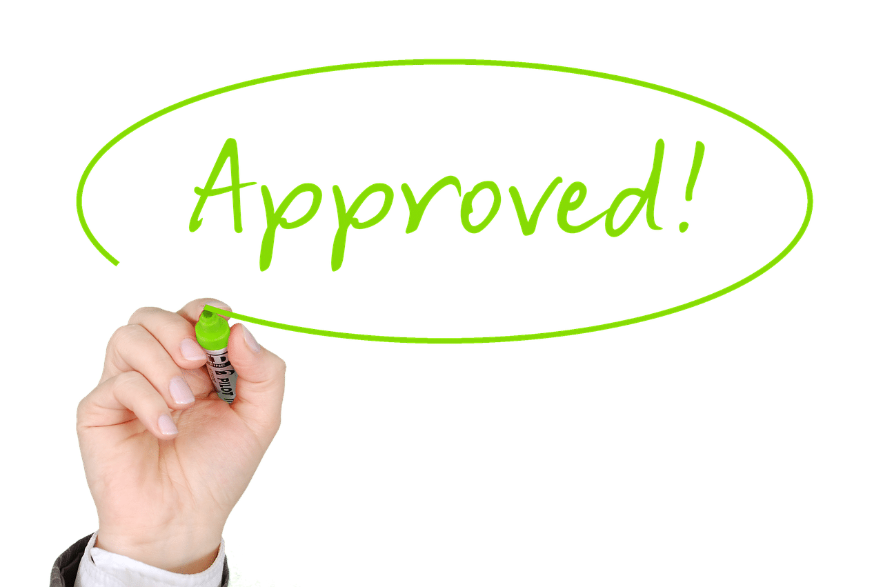 approved, finance, business